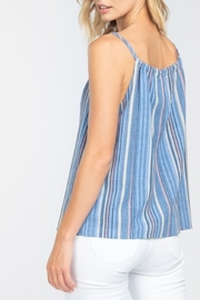Everly Beach Vacay top - Front full body
