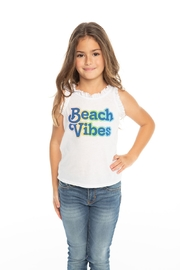 Chaser Beach vibes tank - Front full body