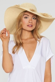 L SPACE Beach Weekend Hat - Front cropped