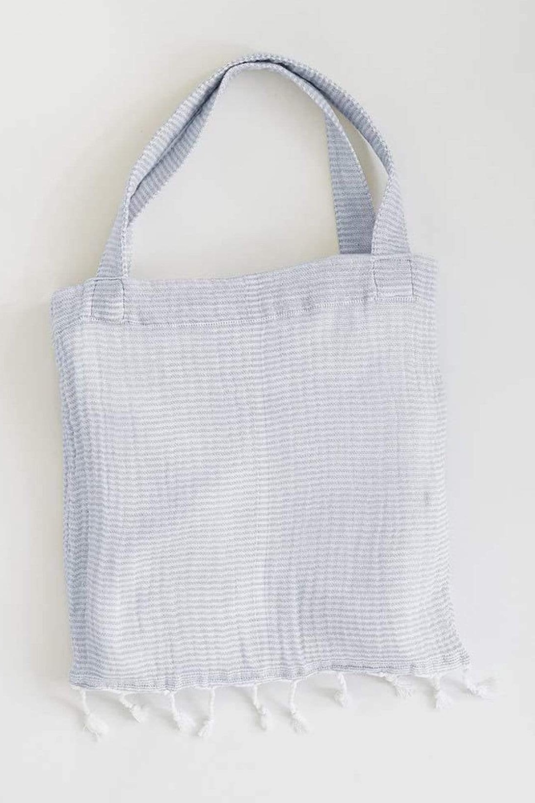 Mer Sea & Co Beach Wrap with Tote Bag - Back Cropped Image