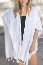 Mer Sea & Co Beach Wrap with Tote Bag - Front cropped