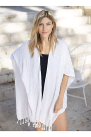The Birds Nest BEACH WRAP WITH TOTE - Front cropped