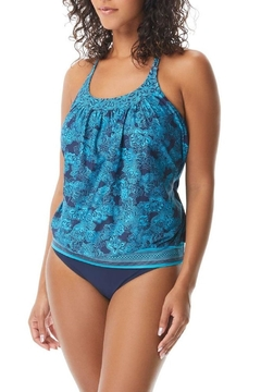Beach House Blouson Tankini Top - Product List Image