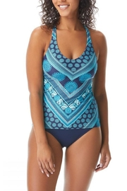 Beach House Slim-Fit Cross-Back Tankini - Product Mini Image