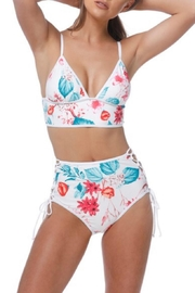 beach joy High-Waist Two Piece - Front cropped