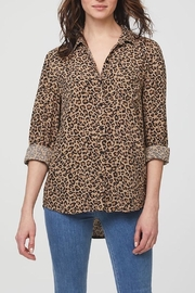 beachlunchlounge Animal Print Shirt - Product Mini Image