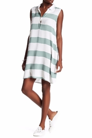 Beach Lunch Lounge Knit Shift Dress - Front cropped