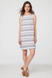 Beach Lunch Lounge Striped Linen Dress - Product Mini Image