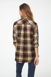 beachlunchlounge Wheat 'n Roses Flannel - Side cropped