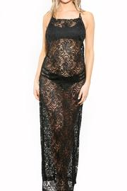 BeachCandy Backless Lace Coverup - Product Mini Image