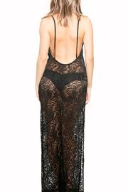 BeachCandy Backless Lace Coverup - Side cropped
