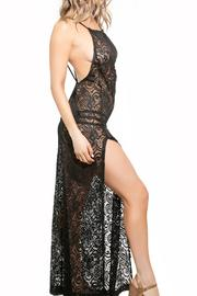 BeachCandy Backless Lace Coverup - Front full body