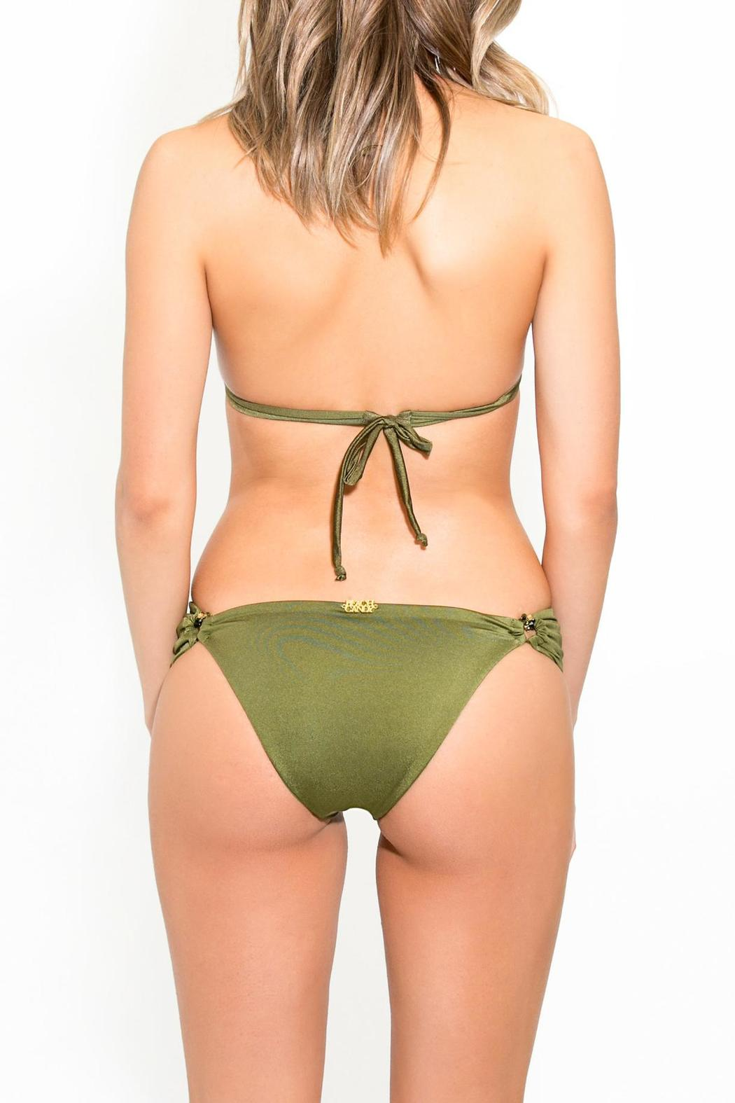 BeachCandy Halter Bikini Top - Back Cropped Image