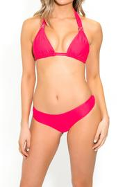 BeachCandy Halter Bikini Top - Front cropped
