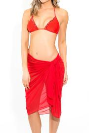 BeachCandy Long Mesh Sarong - Back cropped