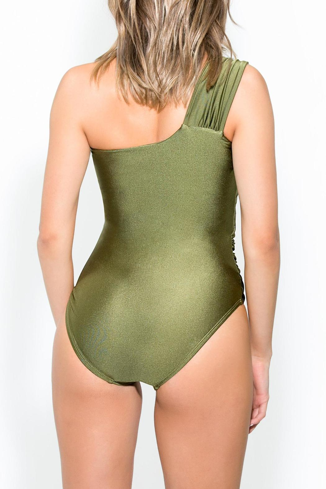 BeachCandy One Shoulder One Piece - Back Cropped Image