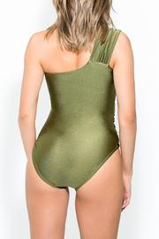 BeachCandy One Shoulder One Piece - Back cropped