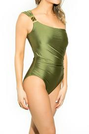 BeachCandy One Shoulder One Piece - Front full body