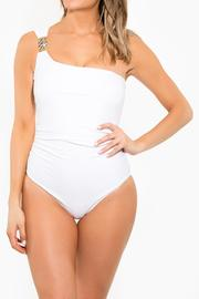 BeachCandy One Shoulder One Piece - Front cropped
