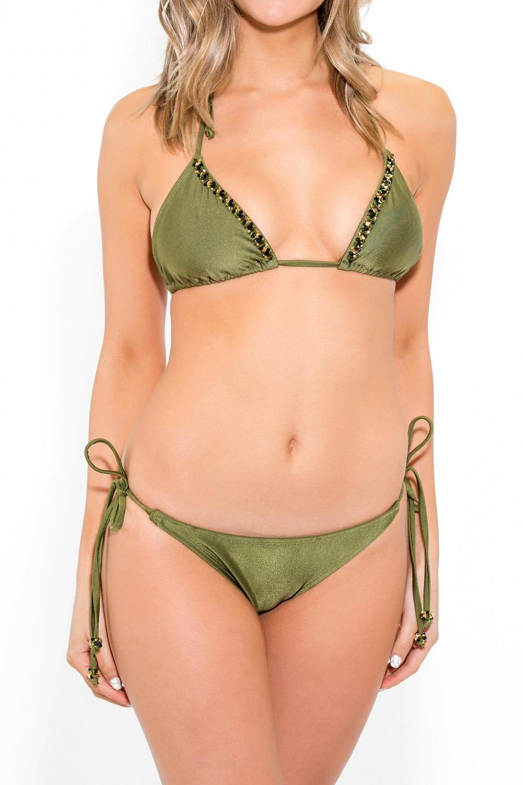 BeachCandy String Bikini Bottom - Front Cropped Image