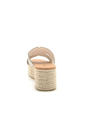 Qupid Beachie Espadrille Slide - Side cropped