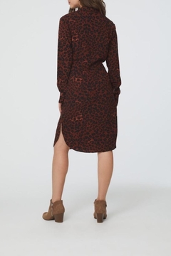 beachlunchlounge Animal Print Shirtdress - Alternate List Image