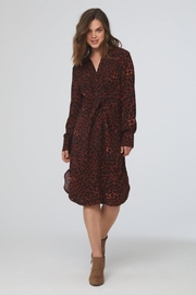 beachlunchlounge Animal Shirt Dress - Product Mini Image
