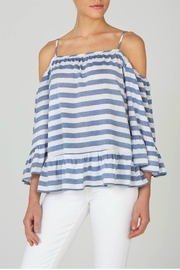 beachlunchlounge Cold Shoulder Top - Product Mini Image