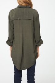 beachlunchlounge Olive Button Down - Side cropped