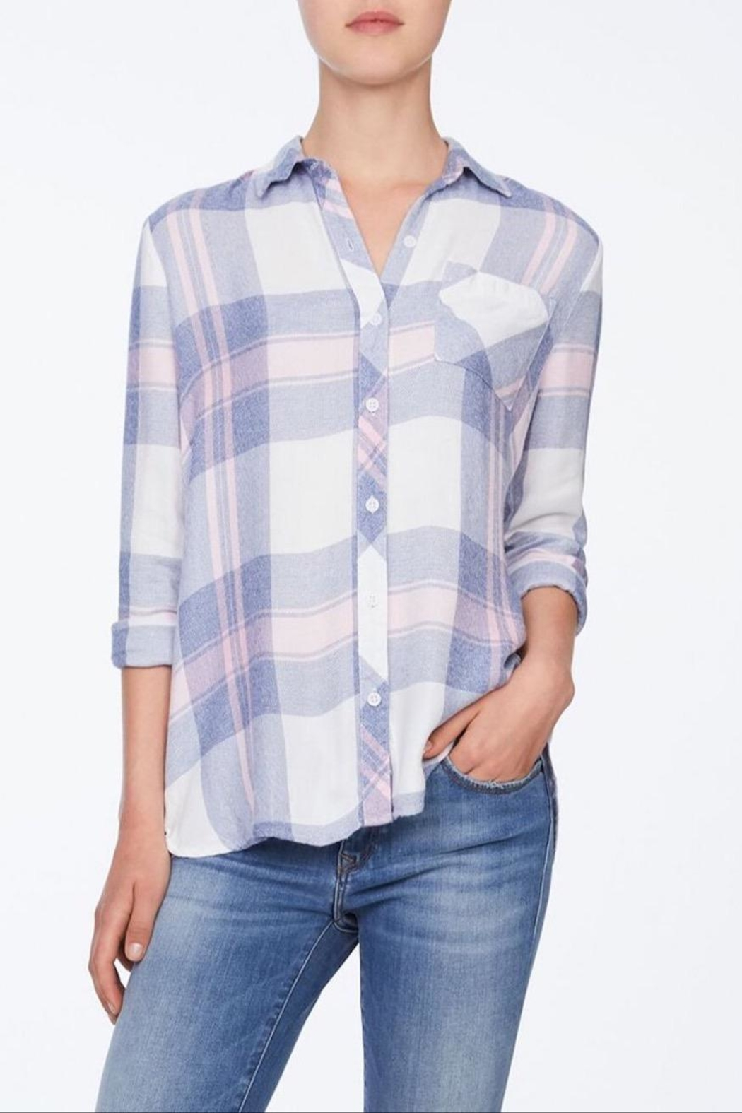beachlunchlounge Plaid Flannel Shirt - Main Image