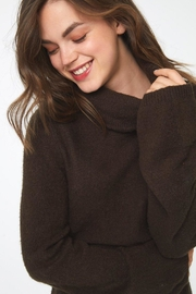 beachlunchlounge Sedona Turtleneck Sweater - Side cropped