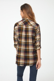 beachlunchlounge Wheat N' Roses Flannel - Front full body