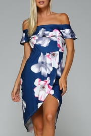 Racine Beachwear Floral Dress - Product Mini Image