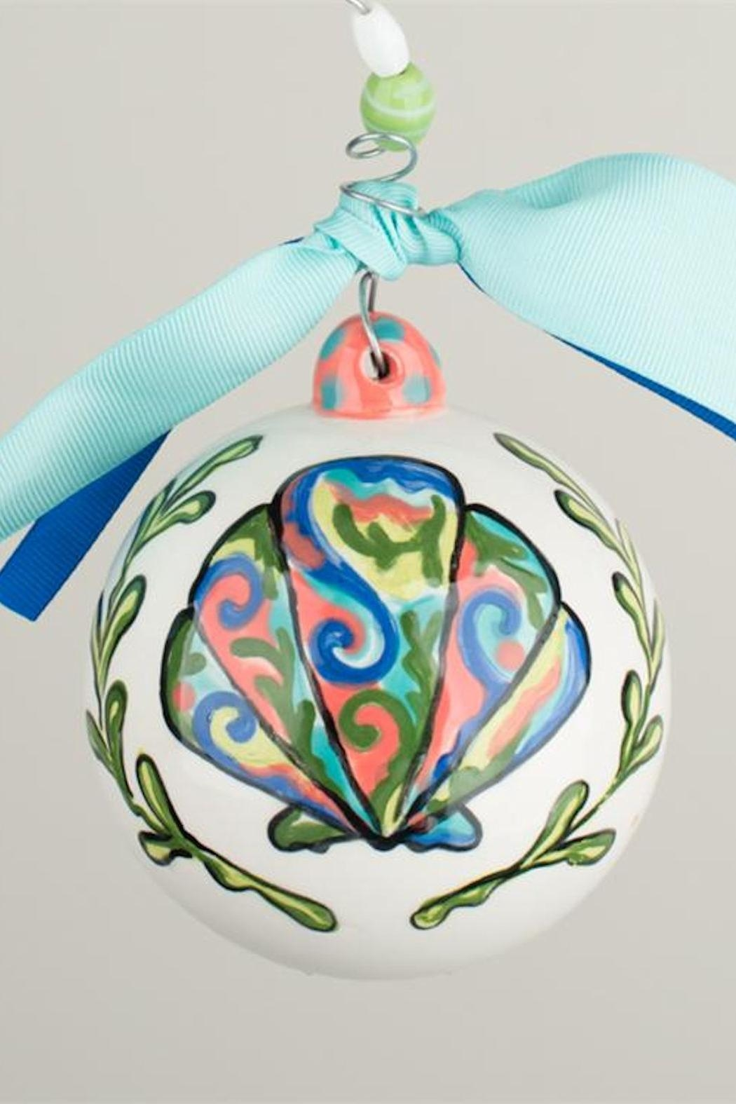 glory haus beachy christmas ornament front full image