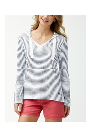 Tommy Bahama Beachy Stripe Hoodie - Product Mini Image