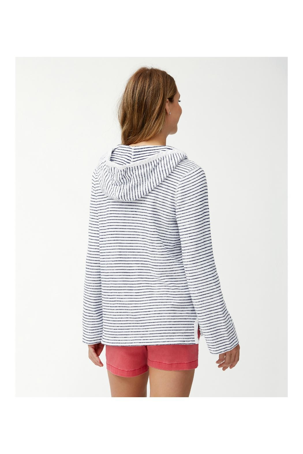 Tommy Bahama Beachy Stripe Hoodie - Front Full Image