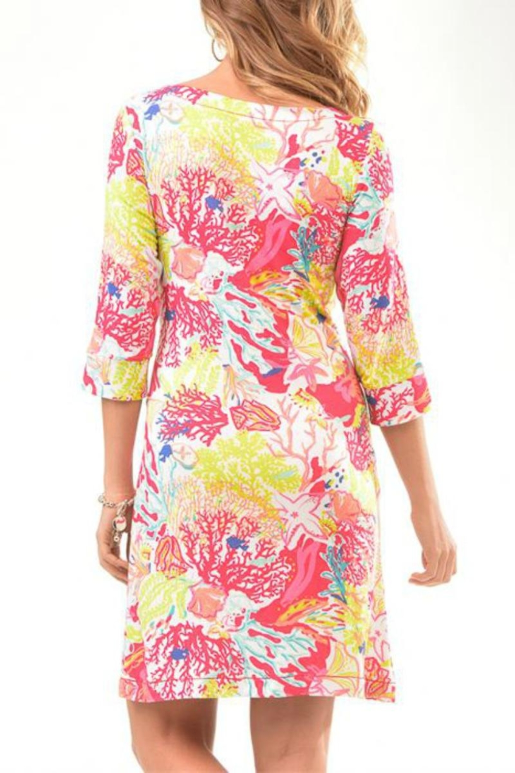 Charlie Paige Beachy Tunic Dress - Front Full Image