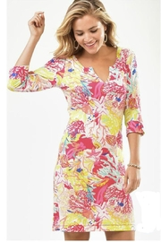 Charlie Paige Beachy Tunic Dress - Front cropped