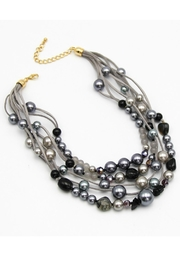 Embellish Bead Stone Necklace - Product Mini Image