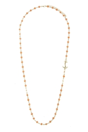 Wild Lilies Jewelry  Beaded Anchor Necklace - Product Mini Image