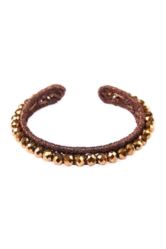Shoptiques Product: Beaded Bangle Bracelet