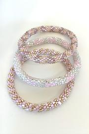 Beth Friedman Lily And Laura Beaded Three Bangle Set - Product Mini Image