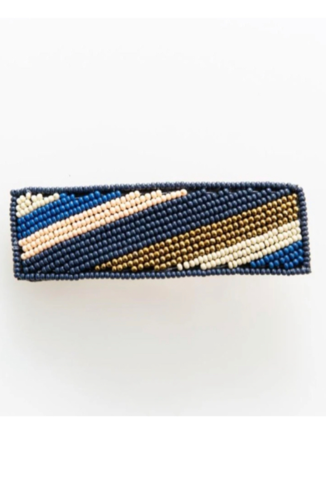 Ink + Alloy Beaded Barrette - Main Image