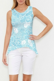 Whimsy Rose Beaded Blooms Tank - Product Mini Image