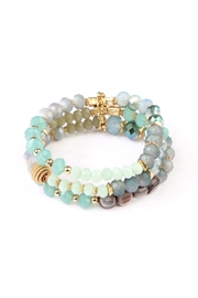 Riah Fashion Beaded Bracelet Set - Product Mini Image