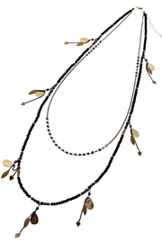 NAKAMOL CHICAGO Beaded Charm Necklace - Front cropped