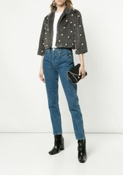 Alberto Makali Beaded Cropped Jacket - Front cropped