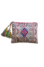 Chloe & Lex Beaded Diamond Pouch - Product Mini Image