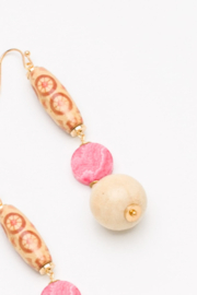 Nakamol  Beaded Drop Earring - Product Mini Image