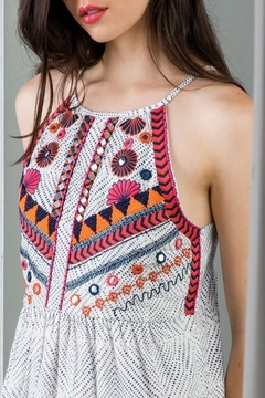THML Clothing Beaded Embroidered Dress - Alternate List Image